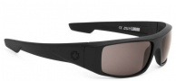Spy Optic Logan Sunglasses Sunglasses - Matte Black / Grey Polarized