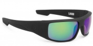 Spy Optic Logan Sunglasses Sunglasses - Matte Black / Bronze Polarized with Green Spectra