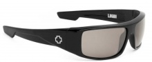Spy Optic Logan Sunglasses Sunglasses - Black / Bronze Polarized with Black Mirror