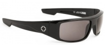 Spy Optic Logan Sunglasses Sunglasses - Shiny Black / Happy Grey Green