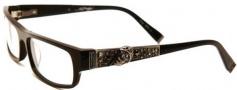 Ed Hardy EHO 701 Eyeglasses Eyeglasses - Black