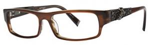 Ed Hardy EHO 701 Eyeglasses Eyeglasses - Hazel