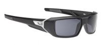 Spy Optic HSX Sunglasses Sunglasses - Matte Black / Grey Polarized