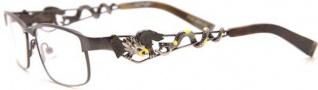 Ed Hardy EHO 702 Eyeglasses Eyeglasses - Ant. Pewter Gunmetal