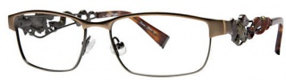 Ed Hardy EHO 702 Eyeglasses Eyeglasses - Copper Gunmetal