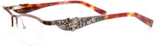 Ed Hardy EHO 703 Eyeglasses Eyeglasses - Latte