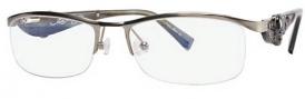 Ed Hardy EHO 703 Eyeglasses Eyeglasses - Gunmetal