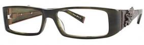 Ed Hardy EHO 704 Eyeglasses Eyeglasses - Olive