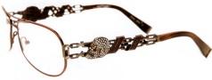 Ed Hardy EHO 705 Eyeglasses Eyeglasses - Cocoa