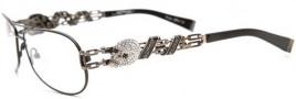 Ed Hardy EHO 705 Eyeglasses Eyeglasses - Pewter