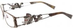Ed Hardy EHO 708 Eyeglasses Eyeglasses - Copper Pewter