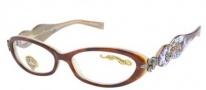 Ed Hardy EHO 709 Eyeglasses Eyeglasses - Blonde