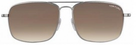 Tom Ford FT 0190 Sunglasses Sunglasses - O10F Nickeltin
