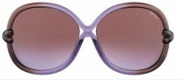 Tom Ford FT 0185 Sunglasses Sunglasses - O83Z Violet / Brown