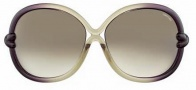 Tom Ford FT 0185 Sunglasses Sunglasses - O95P Violet / Green