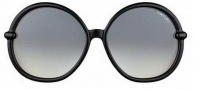 Tom Ford FT 0167 Caithlyn Sunglasses Sunglasses - O01B Shiny Black
