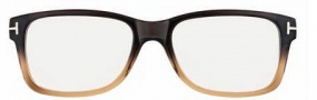 Tom Ford FT 5163 Eyeglasses Eyeglasses - O050 Gradient Brown