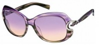 Roberto Cavalli RC587S Sunglasses Sunglasses - O80Z Lilac / Green