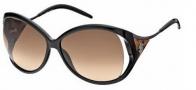 Roberto Cavalli RC573S Sunglasses Sunglasses - O01F Black / Leopard