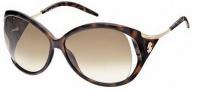 Roberto Cavalli RC573S Sunglasses Sunglasses - O52F Havana