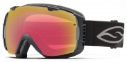 Smith Optics I/O Snow Goggles Goggles - Black / Photochromic Red Sensor + Blackout
