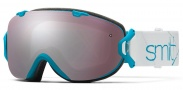 Smith Optics I/OS Snow Goggles Goggles - Aqua Blue Prism / Ignitor + Red Sensor