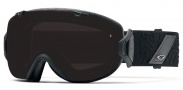 Smith Optics I/OS Snow Goggles Goggles - Black Discord / Blackout + Red Sensor