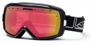 Smith Optics Heiress Snow Goggles Goggles - Black Foundation Red Sensor Mirror