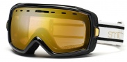 Smith Optics Heiress Snow Goggles Goggles - Black / White Bristol Gold Mirror