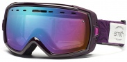 Smith Optics Heiress Snow Goggles Goggles - Shadow Purple Baroque Sensor Mirror