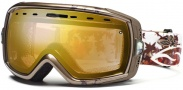 Smith Optics Heiress Snow Goggles Goggles - Bronze Fallen Gold Sensor Mirror