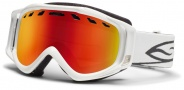 Smith Optics Stance Snow Goggles Goggles - White / Red Sol X Mirror / Extra Yellow Lens