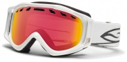 Smith Optics Stance Snow Goggles Goggles - White / Red Sensor Mirror / Extra RC36 Lens