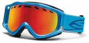 Smith Optics Stance Snow Goggles Goggles - Cyan / Red Sol X Mirror / Extra Yellow Lens