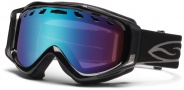Smith Optics Stance Snow Goggles Goggles - Black / Blue Sensor Mirror / Extra RC36