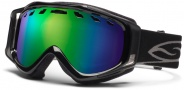 Smith Optics Stance Snow Goggles Goggles - Black / Green Sol X Mirror / Extra Lens