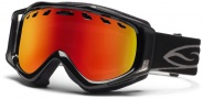 Smith Optics Stance Snow Goggles Goggles - Black / Red Sol X Mirror / Extra Yellow Lens