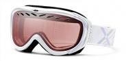Smith Optics Transit Graphic Snow Goggles Goggles - White Lavendar Twill / Ignitor Mirror