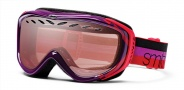 Smith Optics Transit Graphic Snow Goggles Goggles - Mulberry Sunset / Ignitor Mirror