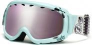 Smith Optics Gambler Graphic Junior Snow Goggles - Mint Shredmaster Igniter Mirror
