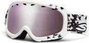 Smith Optics Gambler Graphic Junior Snow Goggles - White Fallen Ignitor Mirror