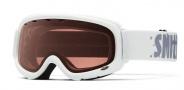 Smith Optics Gambler Junior Snow Goggles Goggles - White / RC36