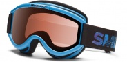 Smith Optics Challenger OTG Junior Snow Goggles Goggles - Cyan Fader / RC36