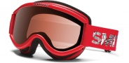 Smith Optics Challenger OTG Junior Snow Goggles Goggles - Red Fader / RC36