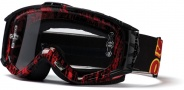 Smith Optics INTAKE-X Bike Goggles Goggles - Red / Black Old Signage-Clear AFC