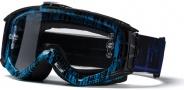 Smith Optics INTAKE-X Bike Goggles Goggles - Cyan / Black Rise & Fall-Clear AFC
