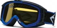 Smith Optics SNOW INTAKE Snowmobile Goggles Goggles - Blue-Yellow AFC Dual Airflow