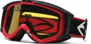 Smith Optics SNOW INTAKE Snowmobile Goggles Goggles - Red-Yellow AFC Dual Airflow