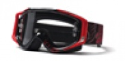 Smith Optics HART & HUNTINGTON FUEL V.2 Moto Goggles Goggles - Black/Red Tombstone-Clear AFC