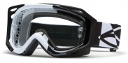Smith Optics FUEL V.2 SWEAT-X Moto Goggles Goggles - White - Black Offset / Clear AFC